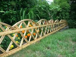 flower garden fence ideas orange flowers yellow high technology garden fence ideas flower bed fence designs
