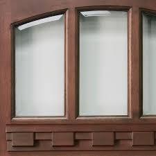beveled transpa glass