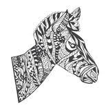 Small Picture Zebra Adult Coloring Page Stock Illustration Image 69518600