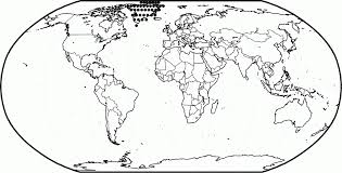 Small Picture Map Of The World For Kids Coloring Pages Coloring Home