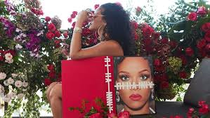 what s rihanna hiding behind her