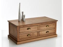 la redoute lunja pine 4 drawer coffee table 219 la redoute