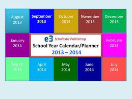 Ppt Calendar 2015 Interactive 2013 2014 School Year Calendar Lesson Planner Ppt