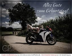 Geburtstag Motorrad