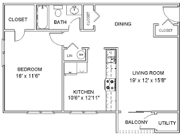 Apartment Floor Plans One Bedroom Apartments In Clifton Park Ny
