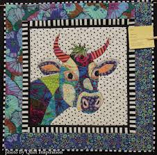 Quilt Inspiration: Best of the September quilt show! Day 3 & This happy cow, created with Kaffe Fassett fabrics and other prints, is  based on the Jersey Girl pattern by Barbara J. Jones (you can see this fun  pattern ... Adamdwight.com