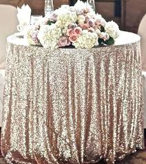 gold sequin tablecloth rose whole 108 round 120 inch