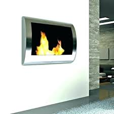gel flame fireplace real fuel white wall mounted logs insert gel fireplace