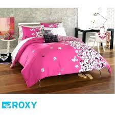 roxy bedding sets bedding set hot pink comforter set queen muse teen girls hot pink gray