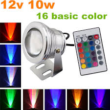 free 2pcs lot led landscape lighting rgb color changing led stage light 12 volt in spotlights from lights lighting on aliexpress com