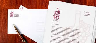 Business Letterhead Printing Services Letterhead