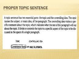 elements of a good paragraph iuml although most paragraphs should 3