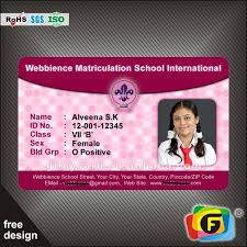 sample id cards customized printing pvc id cards plastic sample employee id cards
