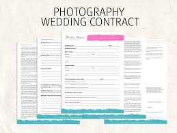 Wedding Photography Contract Template | Bonsai - Bonsai