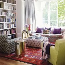 enchanting boho living room design