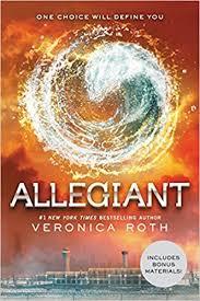 amazon allegiant divergent series 9780062024077 veronica roth books