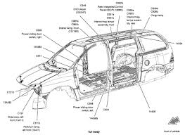 2005 ford star parts diagram ford get image about ford star right rear turn signal and brake light doesnt