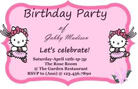 Birthday Party Invitation Card Template Free Inspirational Free Birthday Invitation Template Or Free Free Online