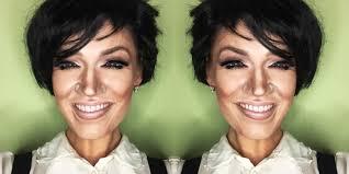 kris kardashian jenner makeup transformation