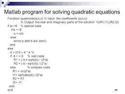 26 26 matlab program for solving