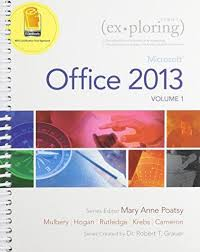 isbn 9780133584271 exploring microsoft office 2013 volume 1 and isbn 9780133584271