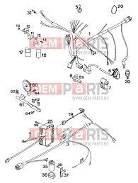 ktm 620 sx wp wiring harness exc supercomp `94 alkatrészek > oem ktm 620 sx wp wiring harness exc supercomp