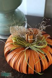 Mason Jar Lid Pumpkin Craft...these are the BEST Fall Craft Ideas &