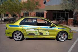 Mitsubishi Evo Custom Door Fast Furious