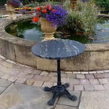 stone table tops. Titanium Granite Top On An Ornate Iron Base Stone Table Tops