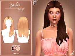 EnriqueS4] Emilia Hairstyle | EnriqueS4 on Patreon | Sims hair, Sims 4 body  mods, Hairstyle