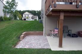 deck for deck over concrete patio design unbelievable build wood