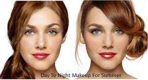 easy summer makeup look from day to night