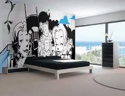 marvelous cool and stress free bedroom paint designs bedroom ideas Cool  Wall Paintings For Bedrooms