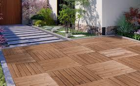 used 17 5x17 5 patio deck tiles wood