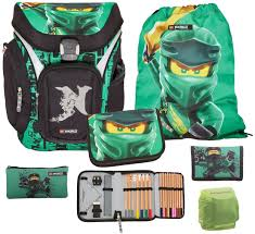 BBM Lego Ninjago School Bag Set 4 Pieces Explorer Filled with Pencil Case,  Gym Bag and Purse Spinjitzu Lloyd Garmadon: Amazon.de: Spielzeug