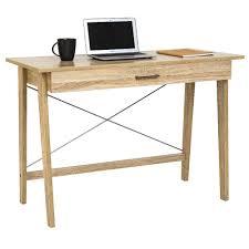 computer desk office works. Computer-desk-officeworks-merlot-single-drawer-desk-oak- Computer Desk Office Works E