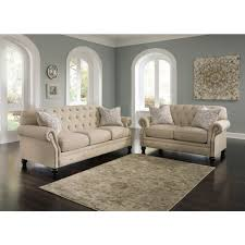 Ashley Furniture Kieran Livingroom Sofa Set in Natural