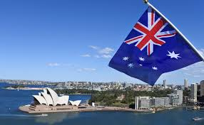 Image result for australian flag in sydney