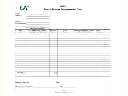 Expense Reimbursement Form Templates Expense Reimbursement Form Template