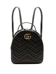 GG Marmont quilted-leather backpack | Gucci | MATCHESFASHION.COM UK & Gucci GG Marmont quilted-leather backpack Adamdwight.com
