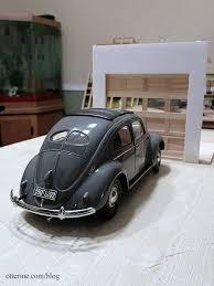 1950 vw beetle garage door mockup