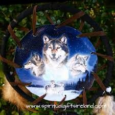 native american dreamcatcher wolf. Delighful Dreamcatcher To Native American Dreamcatcher Wolf Spiritual Gifts Ireland