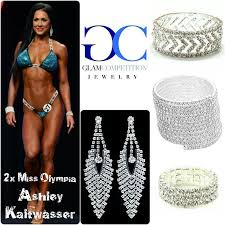 congratulations to glam peion jewelry athlete 3x miss olympia 2x miss arnold international ashley kaltwer