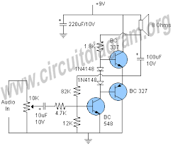 transistor amplifier circuit diagram ireleast info simple transistor audio amplifier circuit diagram wiring circuit