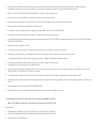 Sap Fico Sample Resumes Sap Mm Resume Format Best Of Sap Resume