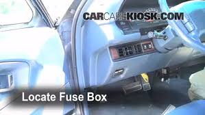 interior fuse box location buick park avenue  locate interior fuse box and remove cover