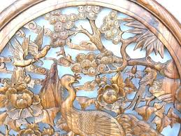 decoration wood carving wall art carved decor