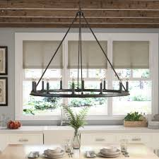 rustic chandeliers you ll love wayfair pertaining to dining room ideas 8