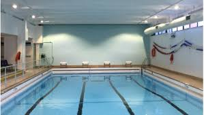 indoor swimming pool lighting. Floodlights Supplied By Industry Experts Carbon8Lighting Has Significantly Increased Light Levels And Enhanced The Ambience Of An Indoor Swimming Pool Lighting