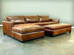tan brown leather sofa bed couch couches for furniture pretty distressed full